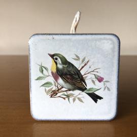 Vintage tegeltjes met vogels