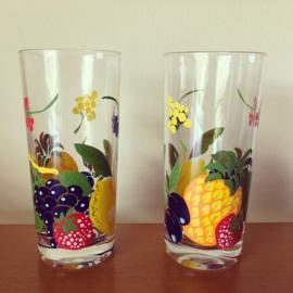 Longdrink glazen fruit