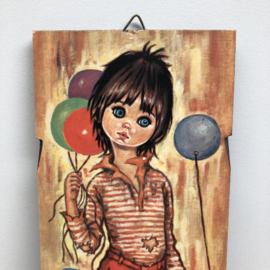 Vintage schilderij F Idylle