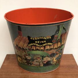 Vintage prullenbak fabeltjeskrant