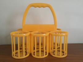 Flessenrek geel