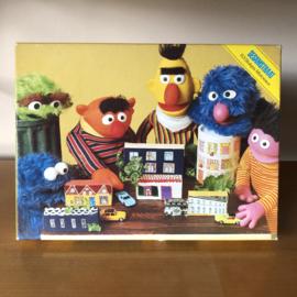 Vintage puzzel Sesamstraat