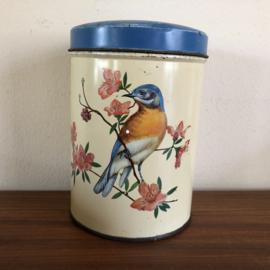 Vintage vogel blik