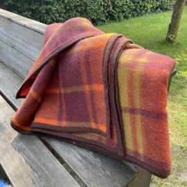 Vintage wollen deken Teten Holland