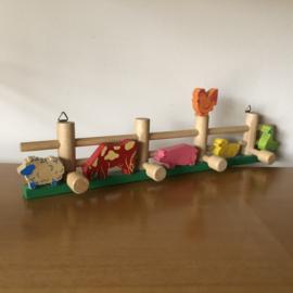 Kinderkapstok Eddu toy boerderij