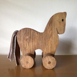 Vintage houten paardje