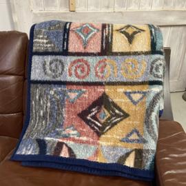 Vintage Didas deken gekleurd
