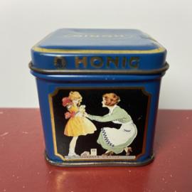 Klein vintage Honig blikje