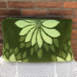Vintage groene deken
