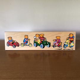 Vintage simplex beren puzzel