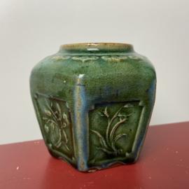 Vintage groen gemberpotje