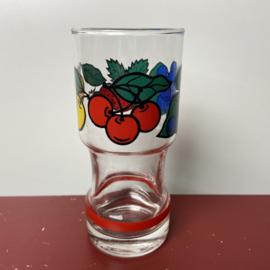 Vintage longdrinkglas fruit