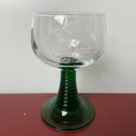 Vintage moezel glazen