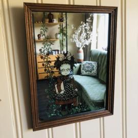Sarah Kay spiegel groot
