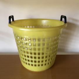 Kleine gele wasmand
