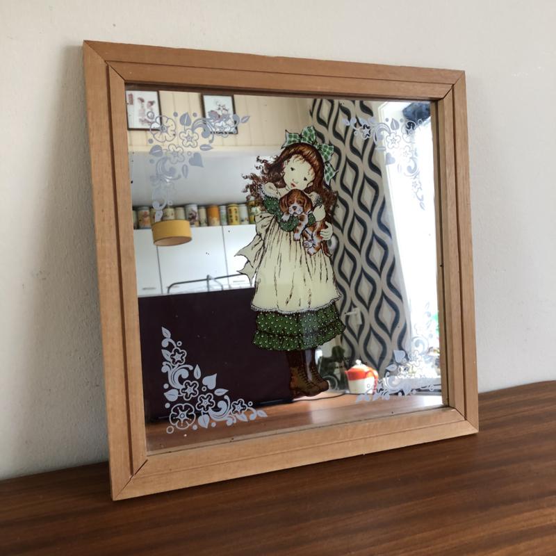 Sarah Kay spiegel vierkant