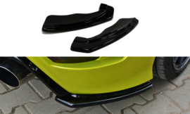 FORD FOCUS MK2 REAR SIDE SPLITTERS