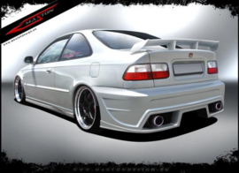 CIVIC VI COUPE / SALOON REAR BUMPER < INFERNO >