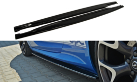 OPEL ASTRA J SIDE SKIRTS DIFFUSERS