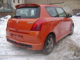 SUZUKI SWIFT ROOF SPOILER