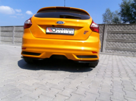 FORD FOCUS MK3 ST PREFACE MODEL REAR SIDE SPLITTERS