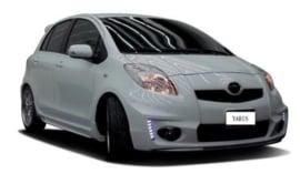 Toyota Yaris 09+ HLM Front Bumper incl. Grill/Bumper Lights