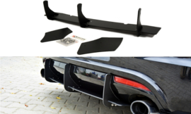 VW SCIROCCO R REAR DIFFUSER & REAR SIDE SPLITTERS