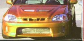HONDA CIVIC VI PREFACE MODEL FRONT BUMPER