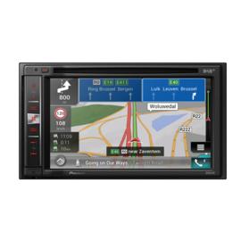 Pioneer AVIC-F980DAB 2 DIN DVD Navigatie. Navi uitgebreide functionaliteit met Naviextras en Navisync, DAB tuner CarPlay