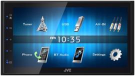 JVC KW-M24BT 50W Bluetooth Zwart autoradio