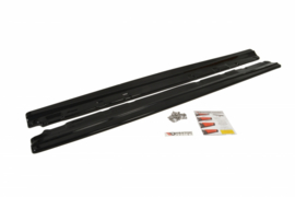 MERCEDES C-CLASS W204 SIDE SKIRTS DIFFUSERS