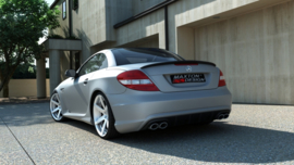 MERCEDES SLK R171 AMG 204 LOOK REAR BUMPER
