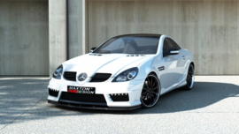 MERCEDES SLK R171 AMG172 LOOK FRONT BUMPER + SIDE GRID'S + LED + MESH + SPLITTER