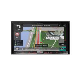 Pioneer AVIC-F88DAB 2 DIN DVD Navigatie. Navi uitgebreide functionaliteit met Naviextras en Navisync, DAB-tuner, CarPlay en Android Auto