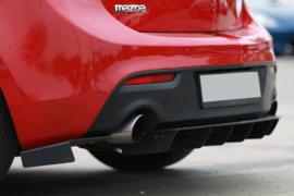 MAZDA 3 MK2 MPS REAR SIDE SPLITTERS