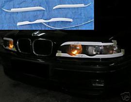 BMW 5 E39 EYEBROWS