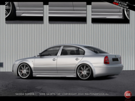 SKODA SUPERB I SIDE SKIRTS