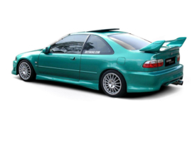 HONDA CIVIC MK5 COUPE SIDE SKIRTS