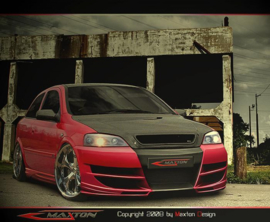 OPEL ASTRA G FRONT BUMPER < INFERNO >