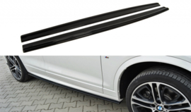 BMW X4 M-PACK SIDE SKIRTS DIFFUSERS