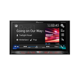 Pioneer AVH-X8800BT Autoradio 2DIN AV DVD-speler met AppRadio Mode voor iOS en Android via HDMI, Bluetooth HF & Audio, CarPlay en Android Auto