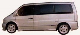 MERCEDES VITO 1996-2003 SIDE SKIRTS