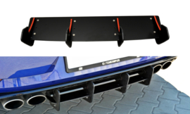 VW GOLF VII R REAR DIFFUSER