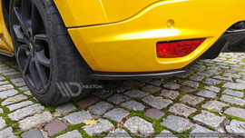 RENAULT MEGANE 3 RS REAR SIDE SPLITTERS