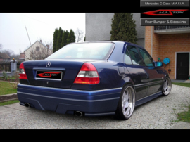 MERCEDES W202 REAR BUMPER