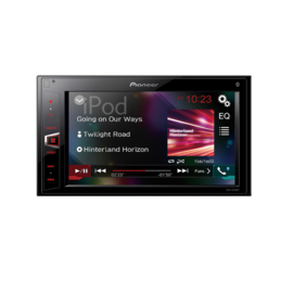 PIONEER MVH-AV290BT 2DIN autoradio zonder CD of DVD. 6.2″ touchscreen met Bluetooth, USB- en Aux-ingang en video-uitgang