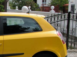 FIAT STILO 3 DOOR ROOF SPOILER