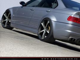 BMW 3 E46 - 4 DOOR SALOON SIDE SKIRTS < M3 LOOK >