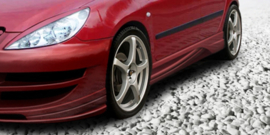 PEUGEOT 307 SIDE SKIRTS < INFERNO >