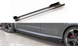 AUDI RS3 8V SPORTBACK RACING DURABILITY SIDE SKIRTS DIFFUSERS + FLAPS